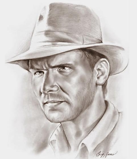 Indiana Jones by gregchapin