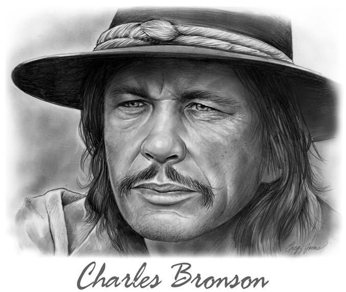 Charles Bronson by gregchapin
