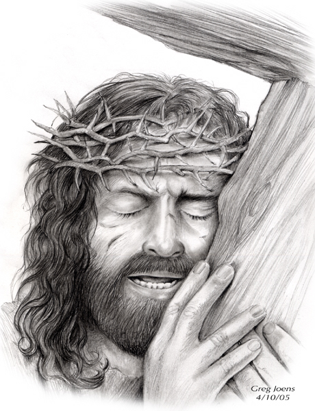 Jesus and cross by gregchapin on DeviantArt