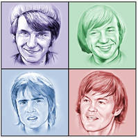The Monkees by gregchapin