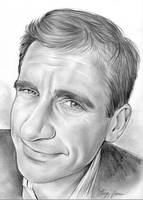 Steve Carell by gregchapin