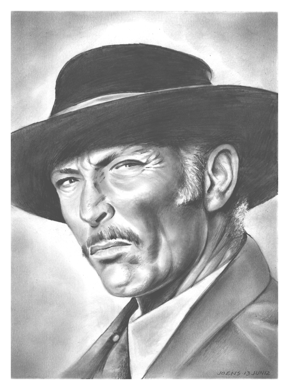 Lee Van Cleef by gregchapin on DeviantArt