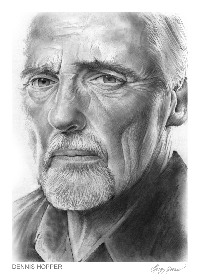 Dennis Hopper by gregchapin