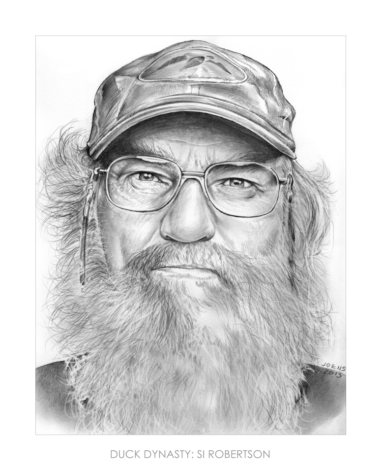 si robertson of duck dynasty by gregchapin on deviantart