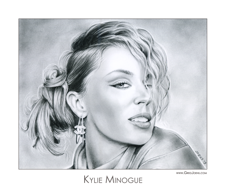 Kylie Minogue by gregchapin