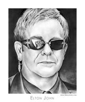 Elton John by gregchapin