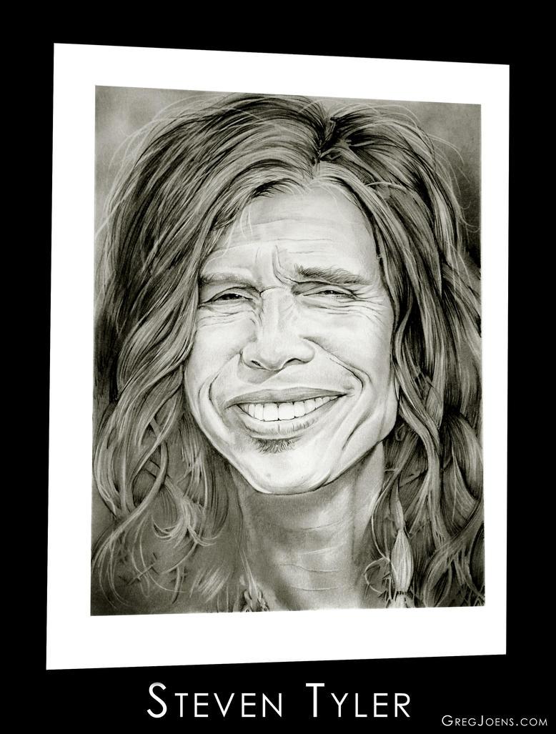 Steven Tyler by gregchapin