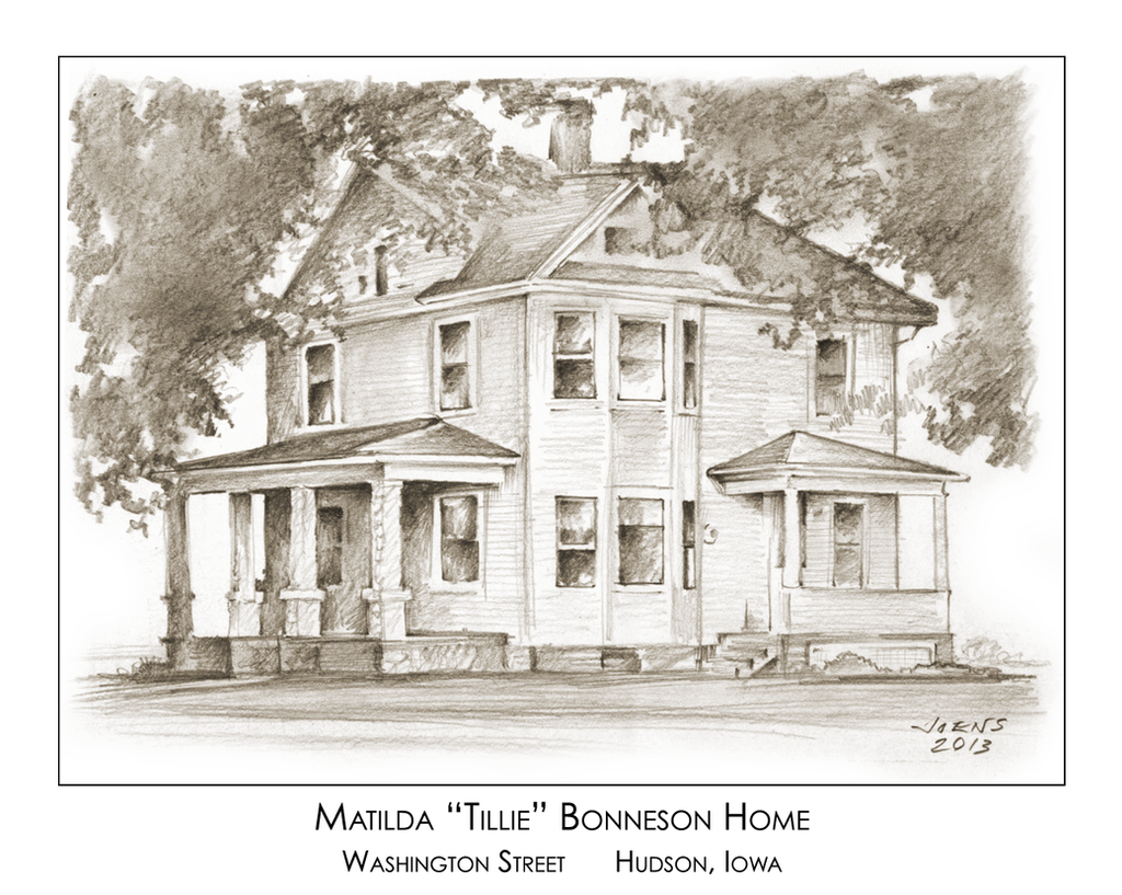 Pencil Drawing of old home by gregchapin on DeviantArt
