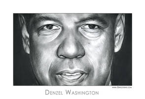 Denzel Washington by gregchapin