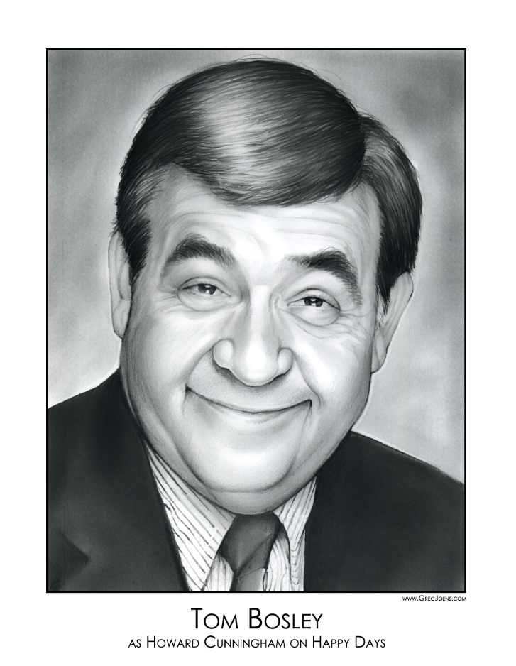 Tom Bosley Wallpapers Tom Bosley by gregchapin