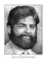 Zach Galifianakis by gregchapin