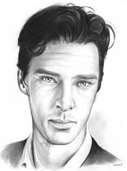 Benedict Cumberbatch by gregchapin