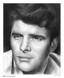 Burt Lancaster by gregchapin