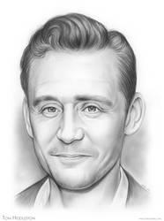 Tom Hiddleston by gregchapin