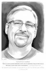 Pastor Rick Warren by gregchapin