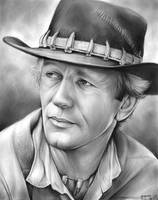 Paul Hogan by gregchapin
