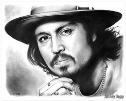 Johnny Depp by gregchapin