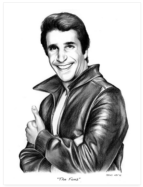 The Fonz by gregchapin