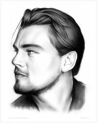Leonardo DiCaprio by gregchapin