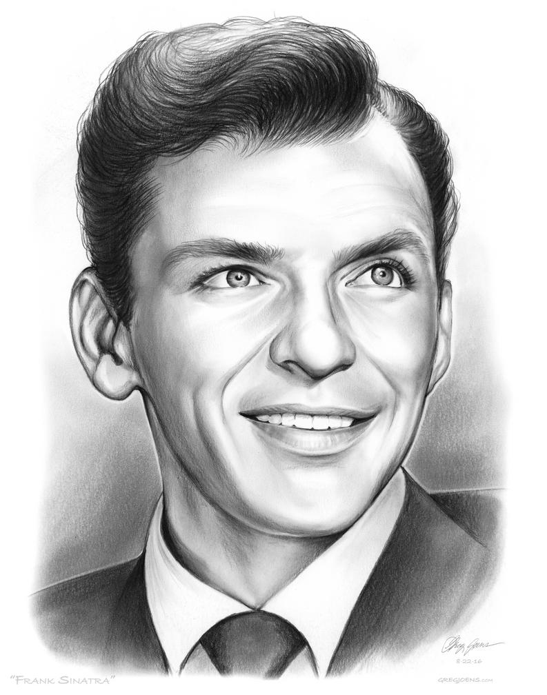 Frank Sinatra by gregchapin
