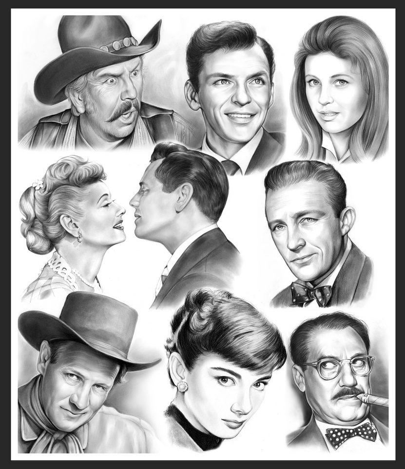 Golden Age of Hollywood Montage by gregchapin