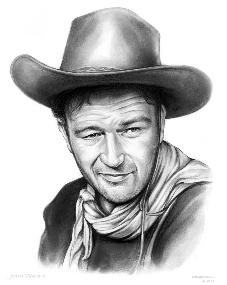 John Wayne by gregchapin