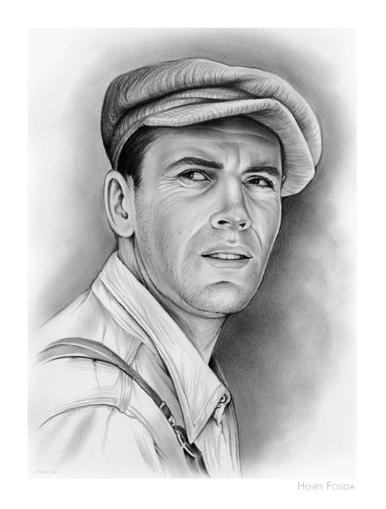 Henry Fonda by gregchapin