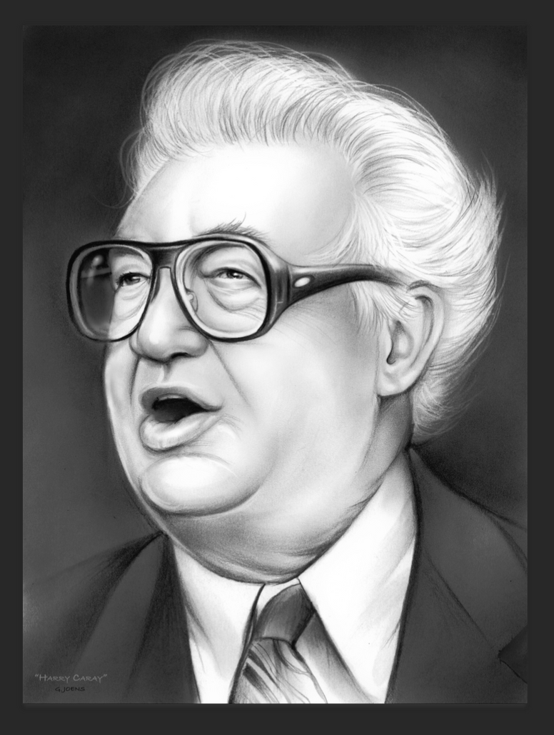 Harry Caray - Cubs by gregchapin