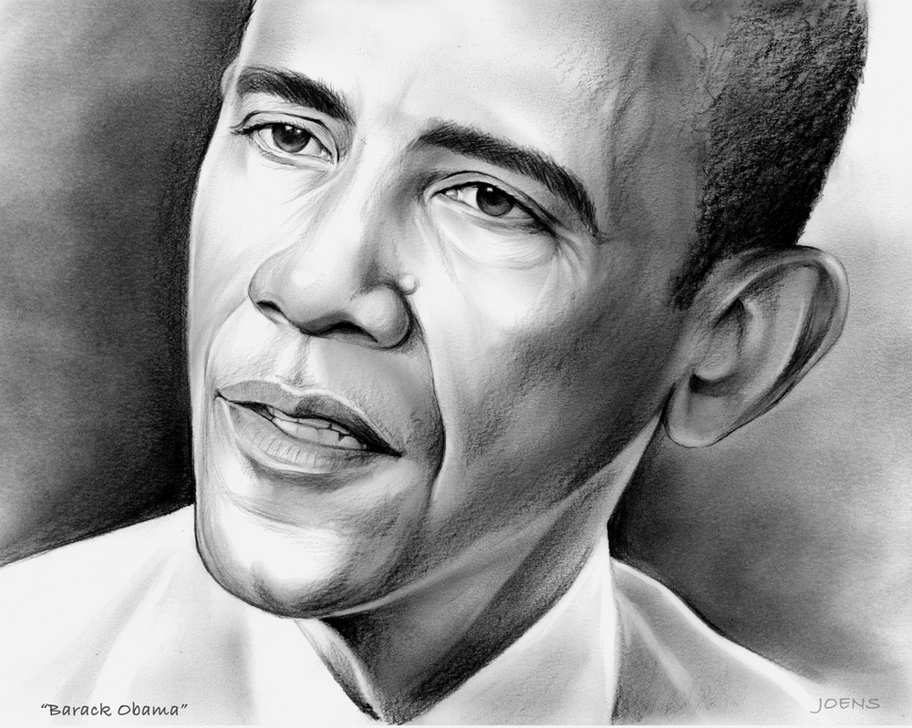44th President of the United States, Barack Obama by gregchapin