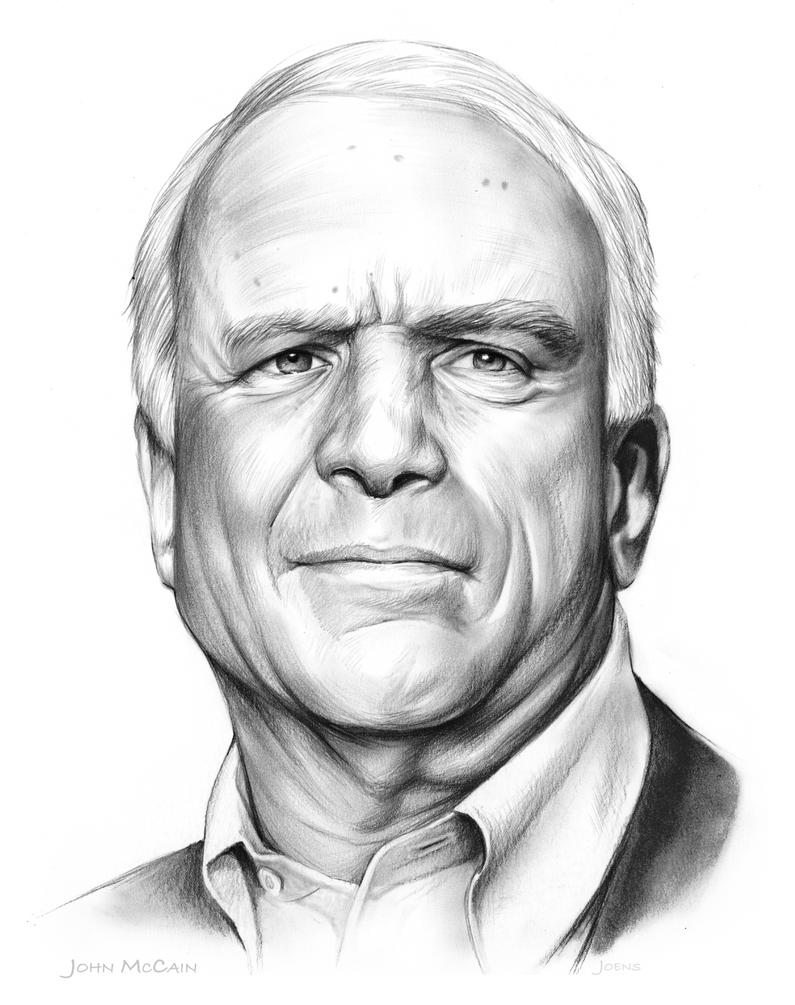 John McCain by gregchapin
