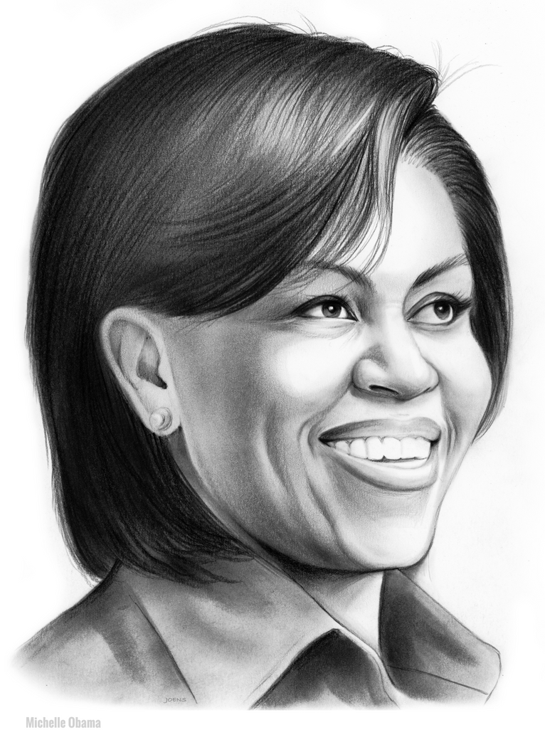 Michelle Obama by gregchapin