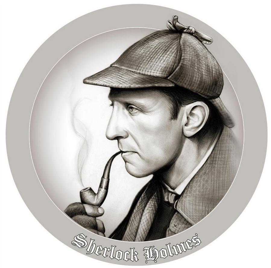 Sherlock Button by gregchapin