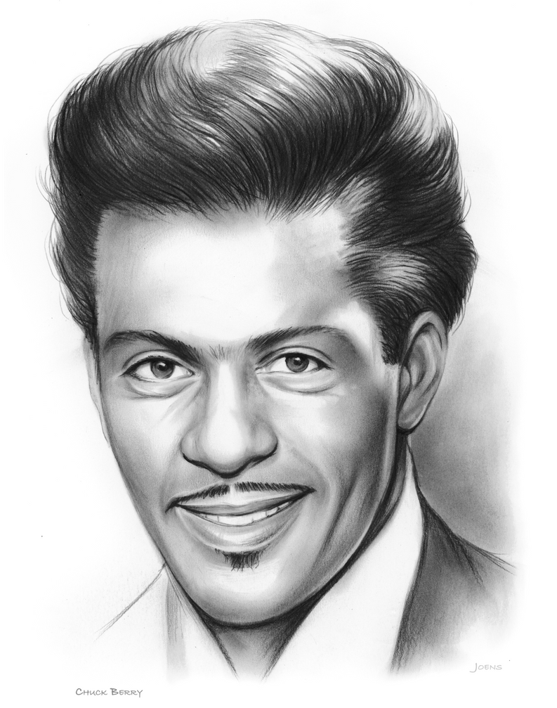RIP Chuck Berry by gregchapin