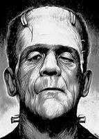 Frankenstein Monster by gregchapin