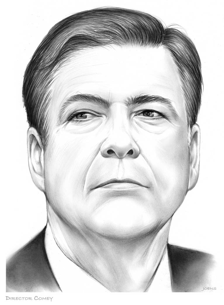 James Comey by gregchapin