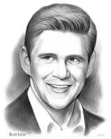 Allen Leech Friday Sketch of the Day by gregchapin