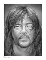Norman Reedus by gregchapin