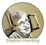 Stephen Hawking 1942 - 2018 by gregchapin
