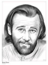 George Carlin: Birthday sketch 12 May 1937 by gregchapin
