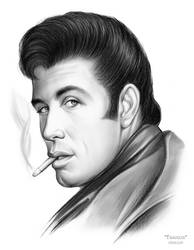 Travolta - Sketch of the Day by gregchapin