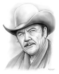 Ben Johnson Cowboy by gregchapin