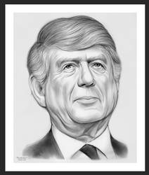 Sketch of the Day: Ted Koppel by gregchapin