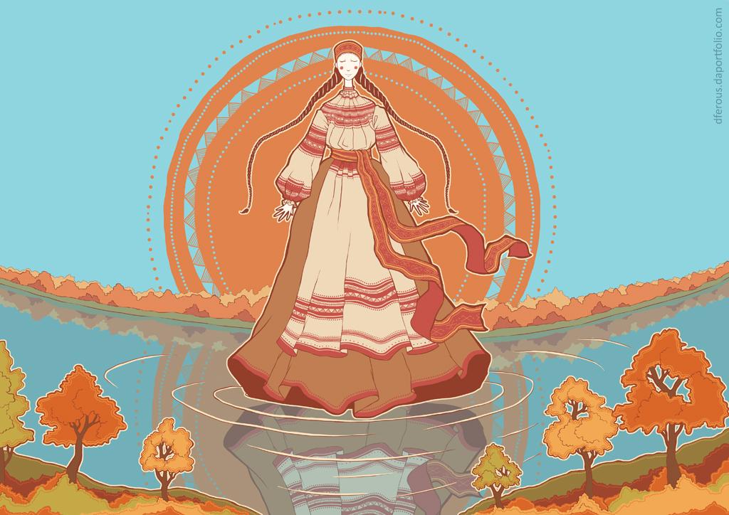 October: Dana by Dferous