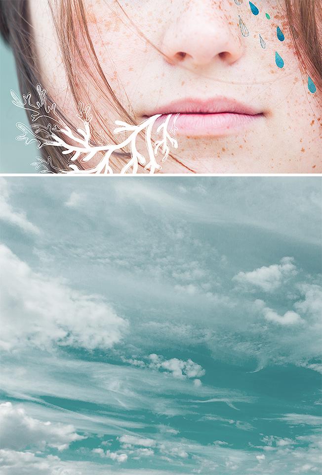 Sea rain by Dferous