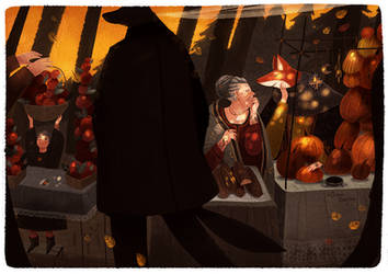 Autumn equinox market by Dferous