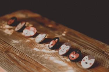 Mask pins