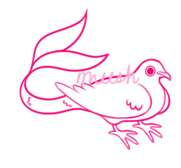 opal merbird by xAerisx