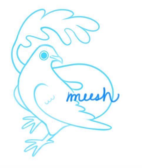 angelite merbird by xAerisx