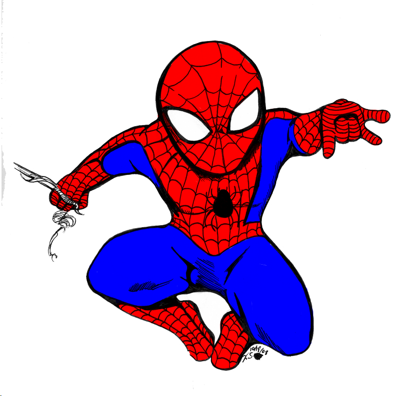Spiderman Chibi by BeekzGaming on DeviantArt
