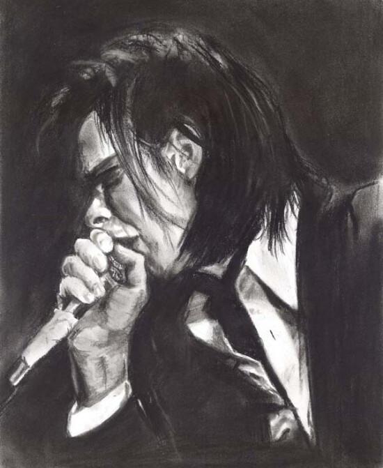 Nick Cave. by Regitze